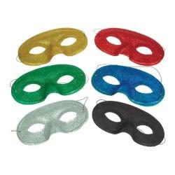 fun world Μάσκα Με Χρυσόσκονη Σε 6 Χρώματα 650 5212007502912