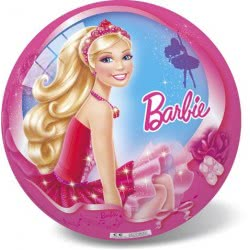 star ΜΠΑΛΑ ΠΛΑΣΤΙΚΗ 23εκ BARBIE IN THE PINK SHOES 19/2627 5202522126274