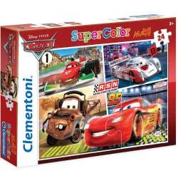 Clementoni Παζλ 24Τεμ Maxi Super Color Disney Cars 1200-24470 8005125244706