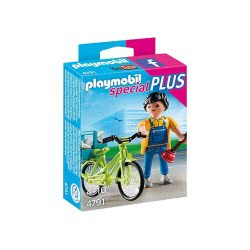 Playmobil Special Plus Υδραυλικός με ποδήλατο 4791 4008789047915