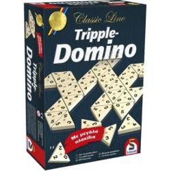 Schmidt Επιτραπέζια Οικογενειακά Tripple-Domino 49287 4001504492878