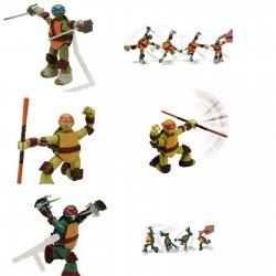 GIOCHI PREZIOSI TMNT Ninja Action Φιγούρα GPH91621 8001444140736