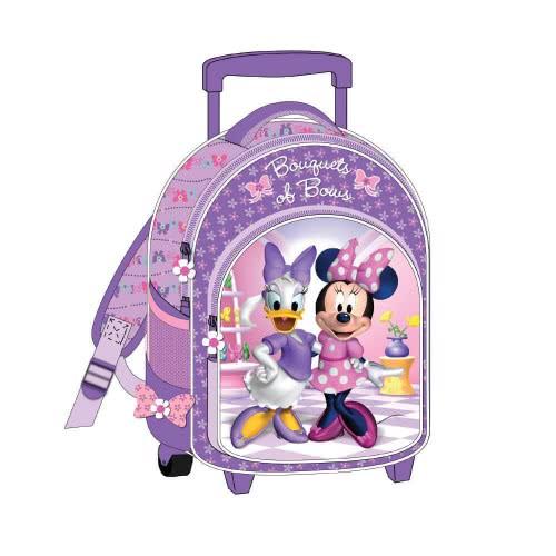 5df5c03412 Diakakis imports Τσάντα τρολλευ με 3 θήκες Minnie Mouse 0561476  5205698194917