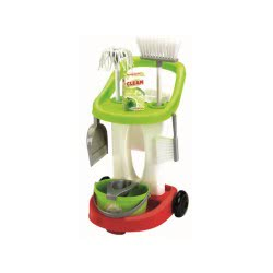 ecoiffier Τρόλευ Καθαρισμού Cleaning Trolley 1776 3280250017769