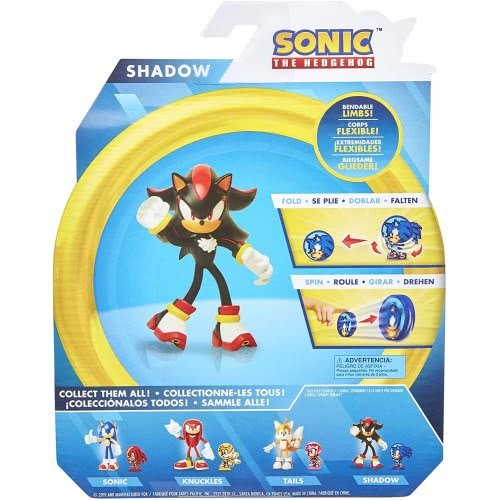 Jakks Pacific Sonic The Hedgehog 4 Inch Shadow Collectible Toy Action Figure Jpa40054 Toys Shop Gr