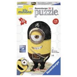 Ravensburger Παζλ 3D MATIE MINIONS 54τμχ 05-11650 4005556116508
