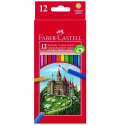 Faber-Castell Ξυλομπογιές Fight Nighty 12 Χρώματα 12306255 4005401112129