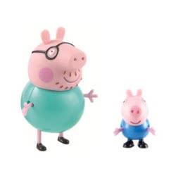 GIOCHI PREZIOSI Peppa Pig Blister Μπαμπάς And George GPH01470 8005163014927