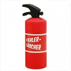 TRENDHAUS Γόμα Rad!erer Fire Extinguisher Πυροσβεστή 934758 4032722934758