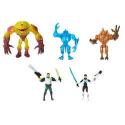 Mattel Max Steel - Φιγούρες Με Αξεσουάρ BHH48 746775339548