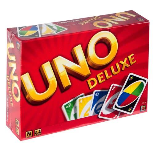 Mattel Uno Deluxe 53610 5011363536100