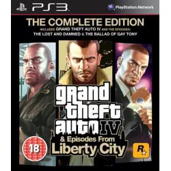 ROCKSTAR GAMES PS3 GTA IV + Episodes From Liberty City (Complete Edition) 5026555405645 5026555405645