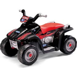 Peg-Perego Toys Peg-Perego Polaris Sportsman 400 Nero 6V Μπαταριοκίνητη Γουρούνα ED1106 8005475332979