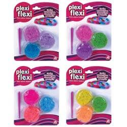 As company Plexi Flexi Συσκευασία Με Λαστιχάκια 900Τεμ 4 Σχέδια 1080-25551 5203068255510