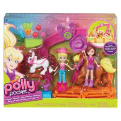 Mattel Polly - Στάβλος Με Πόνυ CBW74 887961016062