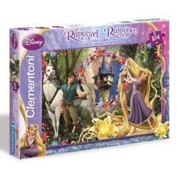 Clementoni Princess Παζλ 104 S.C Disney- Ραπουνζέλ Χτενίζοντας Τα Μαλλιά 1210-27772 8005125277728