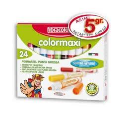 FIBRACOLOR Μαρκαδόροι 24 Χρώματα 22-078 8008621001330