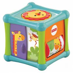 Fisher-Price FISHER PRICE KYBOΣ ΔΡΑΣΤΗΡΙΟΤΗΤΩΝ ΜΕ ΖΩΑΚΙΑ Χ BFH80 746775309947