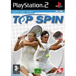2K Games Ps2 Top Spin   5026555304047