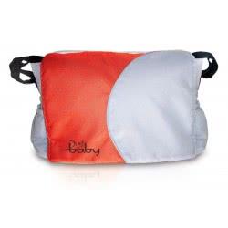 just baby Τσάντα Αλαξιέρα Γκρι-Κόκκινη JB-9017R 5221275898979