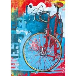 HEYE Παζλ 1000 Bike Art - Κόκκινο ποδήλατο 29600 4001689296001