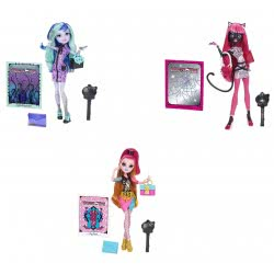 Mattel Monster High Συλλεκτικές Κούκλες 3 Σχέδια CDF48 887961039719