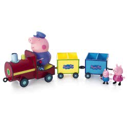 GIOCHI PREZIOSI Peppa Pig train with 3 figures GPH20258/GR 8005163225804