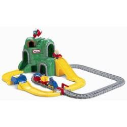 little tikes ΣΕΤ ΤΡΕΝΑΚΙ & ΔΡΟΜΟΣ Big Adventures Construction Peak Rail & Road 4252 050743004254