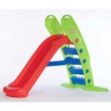 little tikes ΤΣΟΥΛΗΘΡΑ ΓΙΓΑΣ Easy Store Giant Slide - Red and Blue 172816 050743172816