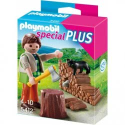 Playmobil Ξυλοκόπος 5412 4008789054128