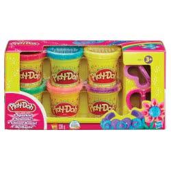 Hasbro Play-Doh Λαμπερές Δημιουργίες Sled Adventure A5417 5010994914547