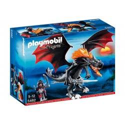Playmobil Γιγάντιος Δράκος-Μαχητής Με Φωτιά LED 5482 4008789054821