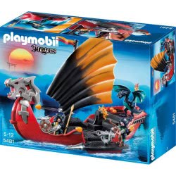 Playmobil Πολεμικό Πλοίο Δράκων 5481 4008789054814