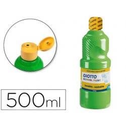 Giotto Τέμπερα 500ml Χρώμα Πράσινο Cinnabar 0114469 8000825535468