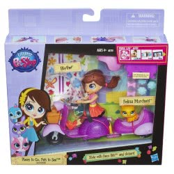 Hasbro LITTLEST PET SHOP BLYTHE AND SCOOTER A8230 5010994804411