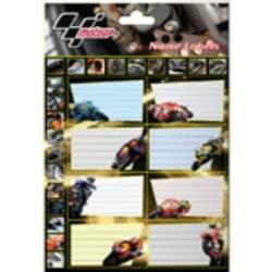 GIM Ετικέτες Τετραδίου Moto GP 75-27046 5204549043251 5204549043251