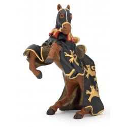 papo Άλογο Μαύρου Και Χρυσού Βασιλιά Ρίτσα 39762 PAPO 3465000397623