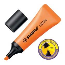 STABILO Μαρκαδόρος  Neon Υπογράμμισης Πορτοκαλί 128072042 4006381401135