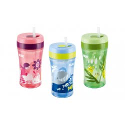 NUK EASY LEARNING CUP FUN 300ml ΜΕ ΚΑΛΑΜΑΚΙ 10750774 4008600180456