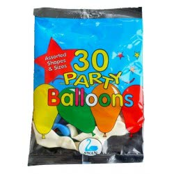 SWAN ΜΠΑΛΟΝΙ ΣΑΚΟΥΛΙ 30 Τεμ. PARTY BALLOONS M0191 5201582201006