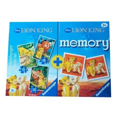Ravensburger 4 σε 1 Memory & pazzle Lion King 05-22168 4005556221684