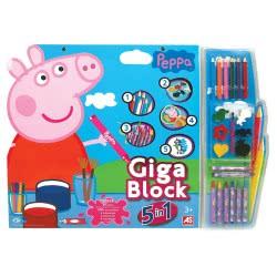 As company Σετ ζωγραφικής Giga Block 5 σε 1 Πέππα το γουρουνάκι 1023-62680 5203068626808