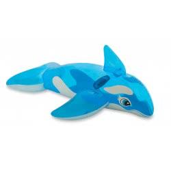 INTEX ΖΩΑ ΦΟΥΣΚΩΤΑ ΦΑΛΑΙΝΑ Lil' Whale Ride-On 58523 6941057455235