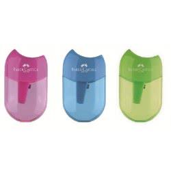 Faber-Castell Ξύστρες Apple Σε 3 Χρώματα 183512 6933256624048