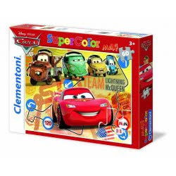Clementoni ΠΑΖΛ 60 MAXI S.C. Disney- Cars : Pit Crew Pals 1200-26739 8005125267392