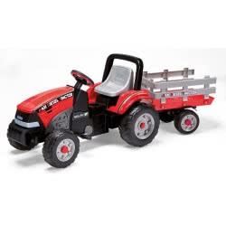 Peg-Perego Toys Peg-Perego Τρακτέρ Με Καρότσα Maxi Diesel Tractor W/Trailer CD0551 8005475339619