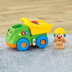 Fisher-Price Σειρά Παίζω Και Μαθαίνω 6-36 Μηνών Εκπαιδευτικό Φορτηγάκι Με Σκυλάκι CDF64 887961039887