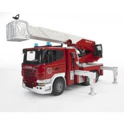 bruder Πυροσβεστική Scania Με Καλάθι BR003590 4001702035907