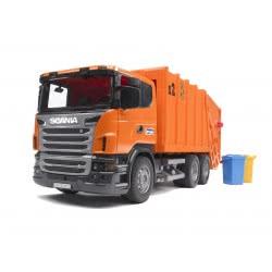 Bruder Αποριμματοφόρο Scania (πορτοκαλί) BR003560 4001702035600