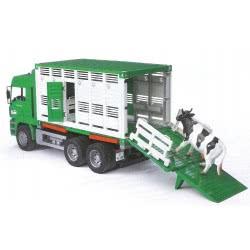 bruder Φορτηγό MAN Μεταφοράς Ζώων BR002749 4001702027490